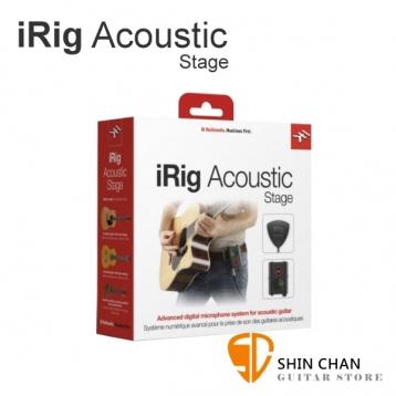 iRig Acoustic Stage 舞台型 樂器拾音器/錄音界面【適用木吉他/民謠吉他/古典吉他/烏克麗麗】