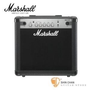 Marshall最新MG15CF電吉他音箱(15瓦/15w)【MG-15CF/電吉他音箱專賣店】