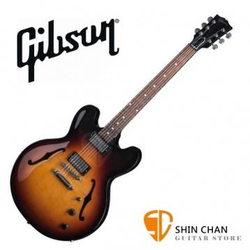 GIBSON ES-335 Studio 電吉他 Ginger Burst  夕陽漸層(ES335 半空心電吉他/爵士吉他) 台灣總代理/公司貨 附贈GIBSON電吉他硬盒/case
