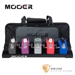 效果器板 ► Mooer PB-05 迷你效果器板 附原廠攜行袋【PB05/效果器盒】