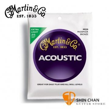 martin弦 Martin M530 磷青銅民謠弦(0.10-0.47)【進口弦專賣店/木吉他弦/M-530】