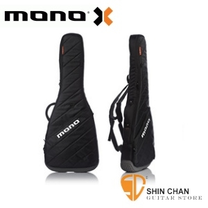 mono吉他袋►美國MONO M80系列 Vertigo 黑色-電吉他袋-軍事化防震防潑水等級(M80-VEG-BLK)
