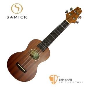 韓國SAMICK Ukulele UN-1 烏克麗麗 21吋 附琴袋 印尼製 搭配義大利Apuila手工琴弦【UN1】