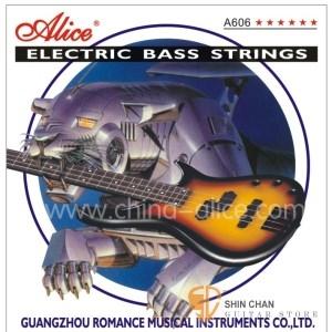 Alice A606L 鎳合金纏弦 4弦電貝斯弦 (40-95)【Alice貝斯弦專賣店/進口貝斯弦】