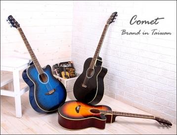Comet吉他►Comet C-190 切角民謠吉他【Comet木吉他專賣店/C190】