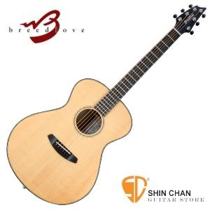 breedlove 吉他 ►Breedlove 美國品牌手工吉他 全單板/可插電 Concert琴身(型號:Oregon Concert)原木色 ORC26E