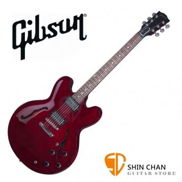 GIBSON ES-335 Studio 電吉他 Wine Red 紅(ES335 半空心電吉他/爵士吉他) 台灣總代理/公司貨 附贈GIBSON電吉他硬盒/case