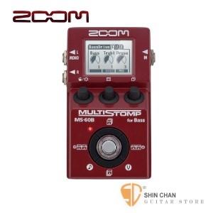 貝斯效果器►ZOOM MS-60B 貝斯單顆型綜合效果器【MS60B】