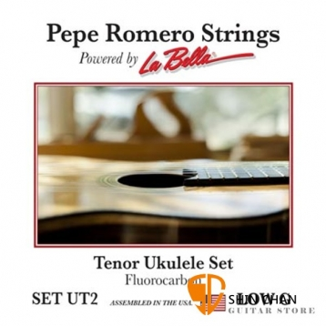 Pepe Romero Strings 碳纖維 26吋 Low G 烏克麗麗弦 型號: SET UT2【La Bella】