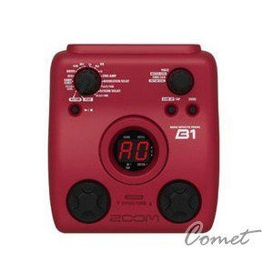 ZOOM B1 電貝斯綜合效果器(原廠一年保固)