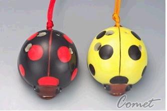 四孔陶笛 瓢蟲造型 兩色 (ZK0-8A) 內附簡易指法表 【4孔陶笛】