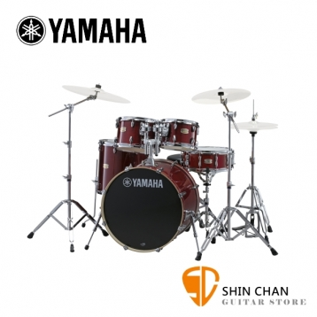 YAMAHA Stage Custom Birch 爵士鼓 紅莓色 100%全樺木  附贈 原廠鼓椅、鼓墊、原廠HW780鼓架組(不含套鈸)