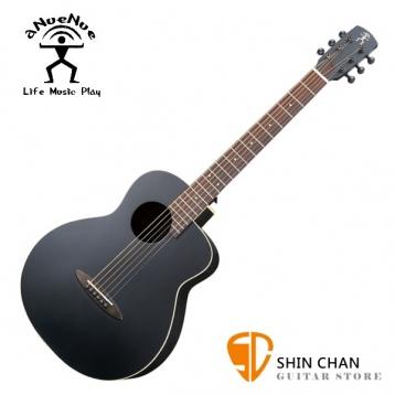 aNueNue ML16 黑鳥/36吋小吉他 雲杉面板/桃花心木側背板(面單板)附贈anuenue原廠吉他袋【鳥吉他ml16/旅行吉他】