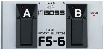 BOSS FS-6 雙功能 開關踏板 FS6 台灣樂蘭公司貨