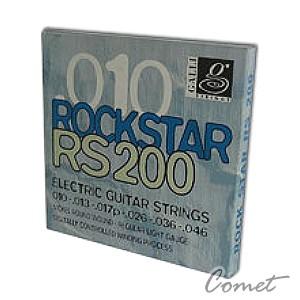 Galli RS-200 鍍鎳電吉他弦(10-46)【Galli品牌/電吉他弦專賣店/義大利製/RS200】