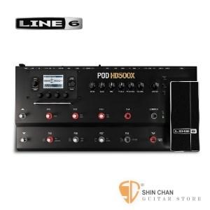 吉他效果器►Line 6 POD HD500X 電吉他綜合效果器【HD-500X】