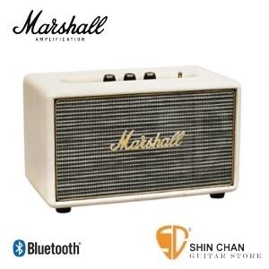 marshall 藍芽音箱 ► Marshall 音箱 ACTON(白)復古經典/藍牙喇叭★買就送英國倫敦吉他Pick組 (無線藍牙配對 iPhone / Android 手機平板)公司貨