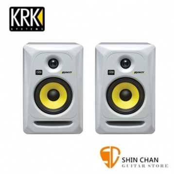 KRK RP5G3 5吋錄音室專用監聽喇叭白色 一對二顆【RP5G3W-NA/ROKIT 5】