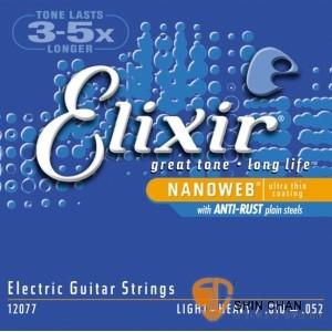 吉他弦 ► Elixir 頂級電吉他弦- Nanoweb(12077)(10-52)【Elixir進口弦專賣店/木吉他弦】