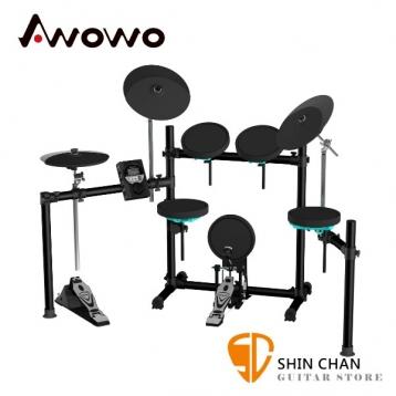 Awowo AK-1 電子鼓 台灣製造/保固3年 初學/進階者首選電子鼓【AK1】另贈鼓椅/鼓棒/耳機
