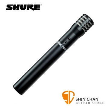 SHURE PG81-LC 原聲樂器/吉他專用 電容式 麥克風【原聲樂器/吉他/弦樂器/銅鈸/打擊樂器專用】總代理公司貨