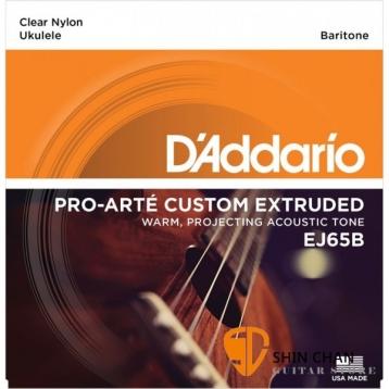 D'Addario EJ65B 烏克麗麗弦(28-35) 上低音 Baritone【烏克麗麗弦/EJ-65/DAddario】