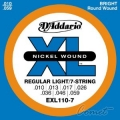 D'Addario EXL110-7 電吉他弦(10-59)(特殊7弦)【DAddario】