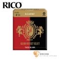 竹片►美國 RICO Grand Concert Select 豎笛/黑管 竹片 Thick Blank 4.5號 Bb Clarinet (10片/盒)【紅黑包裝】