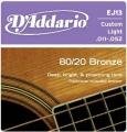 D'Addario EJ13青銅民謠吉他弦(11-52)【DAddario/木吉他弦/EJ-13】