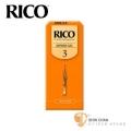 竹片►美國 RICO 高音 薩克斯風竹片 3號 Soprano Sax (25片/盒)【橘包裝】