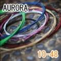 AURORA 美國進口橘色民謠弦(10-48)【AURORA進口弦專賣店/木吉他弦】
