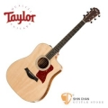 Taylor 210ce-K DLX 可插電 單板 (KAO 相思木) 民謠吉他 墨廠 附硬盒【210CE-K-DLX】