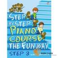 鋼琴初階N3.(Step by step) 【適合幼兒邊學習英文邊練習指法的教材】