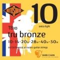 ROTOSOUND TB10 銅合金民謠吉他弦(10-50)【英國製/木吉他弦/TB-10】