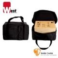 West 無印WS-BAG黑色木箱鼓厚袋(標準型 Standard)台灣製造-黑色木箱鼓袋子/可雙肩揹/可提/有內裡/木箱鼓厚袋子