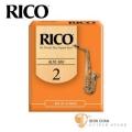 竹片►美國 RICO 中音 薩克斯風竹片 2號 Alto Sax (10片/盒)【橘包裝】