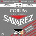 古典吉他弦►SAVAREZ 500AR (標準張力)古典吉他弦【法國製/500-AR/500 AR】