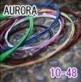 AURORA 美國進口紫色民謠弦(10-48)【AURORA吉他弦專賣店/進口弦】