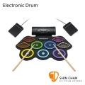 Electronic Drum MD862C 手捲電子鼓/電子爵士鼓 體積更小 音色提升 好收納/初學者超適用/高靈敏/附多項配件【MD-862C】