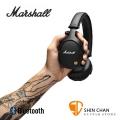 英國 Marshall Monitor Bluetooth 藍牙監聽級耳機(經典黑)封閉全罩式/藍芽耳罩式/公司貨 贈原廠攜帶袋 送獨家英國倫敦吉他Pick組