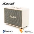 Marshall Woburn 藍牙喇叭/復古經典音箱(奶油白/公司貨)藍芽喇叭
