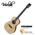 Veelah木吉他 V1-PE 電民謠木吉他-古典琴頭/面單板/Fishman拾音器-附贈Veelah木吉他袋/V1專用(全配件)台灣公司貨