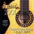 La Bella 2001L 低張力古典吉他弦【La Bella古典弦專賣店/尼龍弦/2001-L】