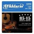 D'Addario EZ910民謠吉他弦(11-52)【DAddario/進口弦/EZ-910】