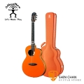 aNueNue LOGT 獅子合唱團聯名款 LION Orange 全單板 41吋 薄桶 民謠木吉他 贈 鳥吉他 LION 木製琴盒 / 專屬配件 台灣總代理 公司貨