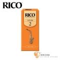 竹片►美國 RICO 中音 薩克斯風竹片 2號 Alto Sax (25片/盒)【橘包裝】