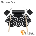 Electronic Drum MD760 手捲電子鼓/電子爵士鼓 體積更小 音色提升 好收納/初學者超適用/高靈敏/附多項配件保固3個月【MD-760】附原廠變壓器