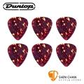 Dunlop Shell Classics 經典彈片 Pick 六片一組 尺寸:X-Heavy(約1.2mm)