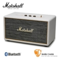 marshall 藍芽喇叭▻ Marshall Stanmore 喇叭/復古經典音箱(白色 奶油白/公司貨)藍牙喇叭 送英國倫敦吉他Pick組