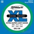 D'Addario EXL130 電吉他弦(08-38)【DAddario】